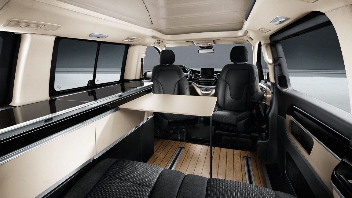 Marco Polo, luxury driver's seat, swivelling, luxury front-passenger seat, swivelling
