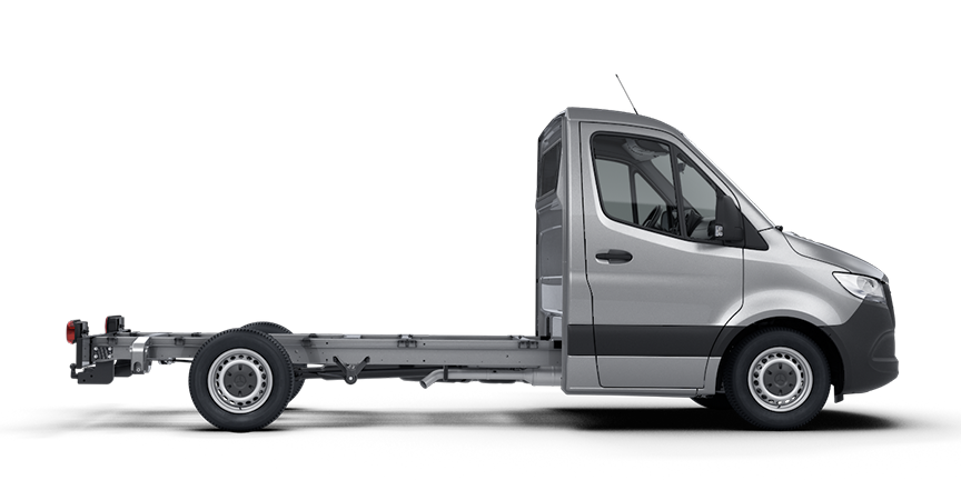 The new Sprinter as a Chassis-Cab Vehicle.