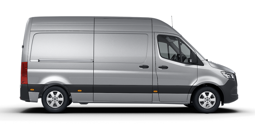 The new Sprinter as a Panel Van.