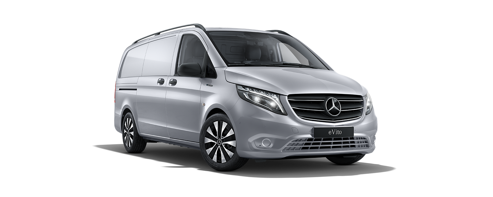 eVito Panel Van, brilliant silver metallic