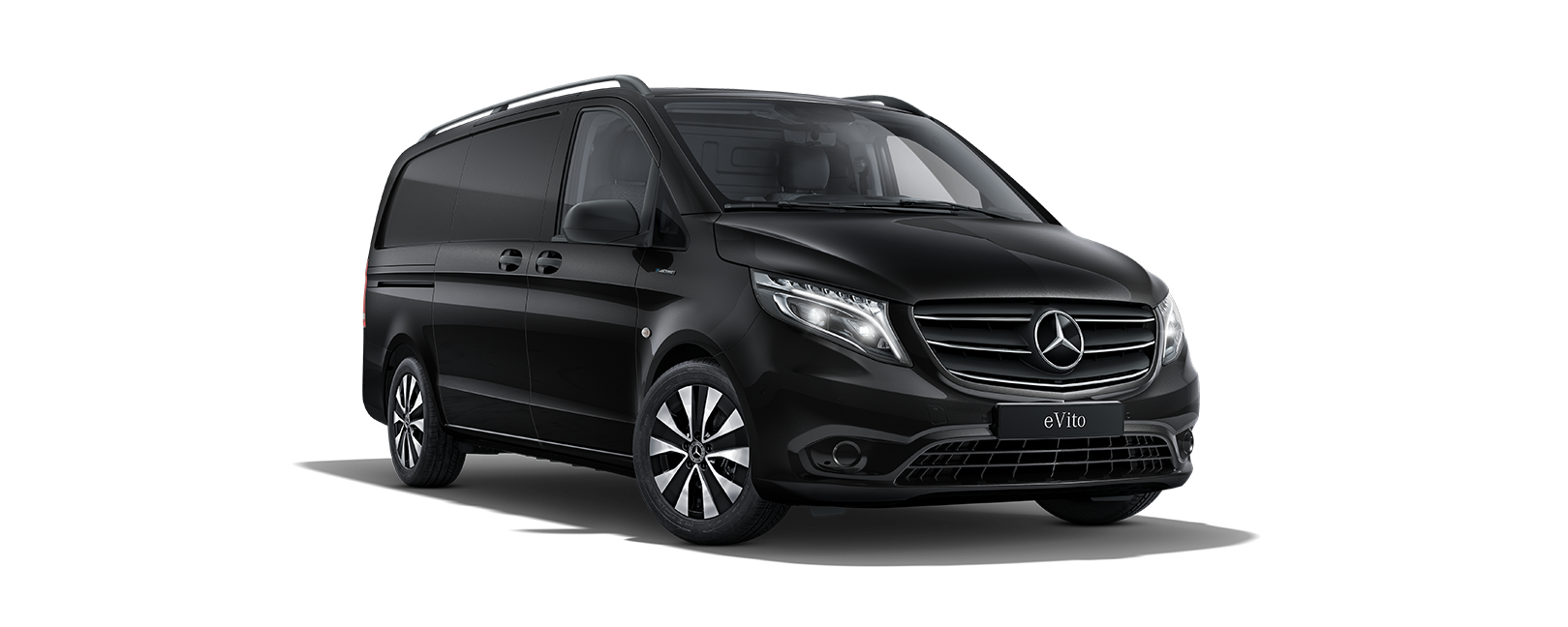 eVito Panel Van, obsidian black metallic