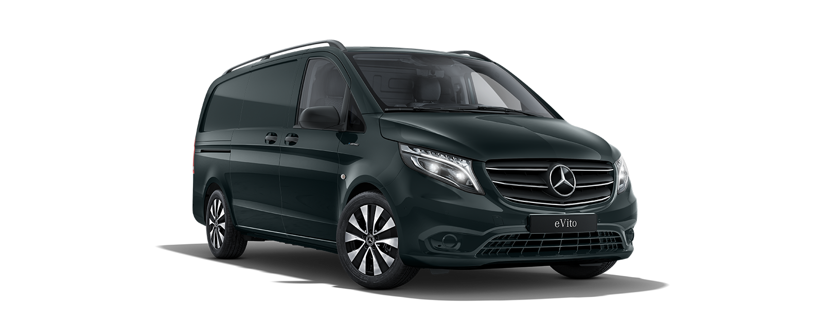 eVito Panel Van, granite green